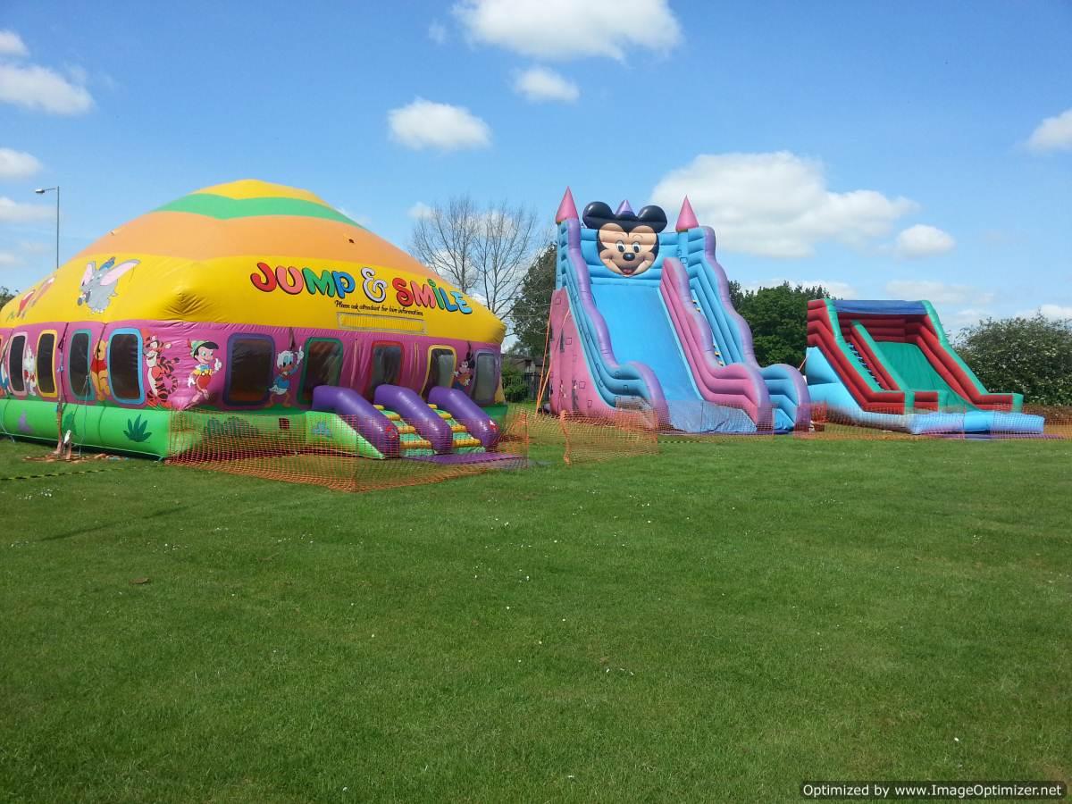 Bouncy castle hire Ashby, Coleorton, Swannington, Packington, Smismby, Norris Hill and Blackfordby