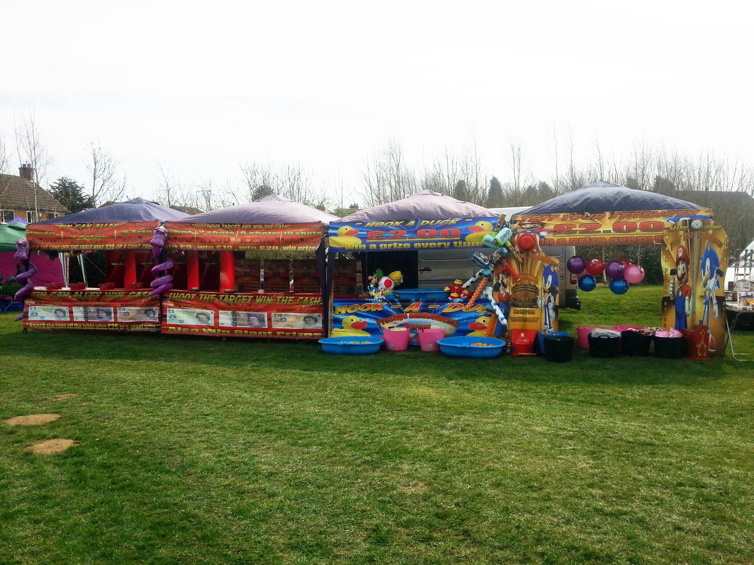 Funfair side stall Hook a duck hire Coventry, Exhall, Corley, Keresley, Meriden